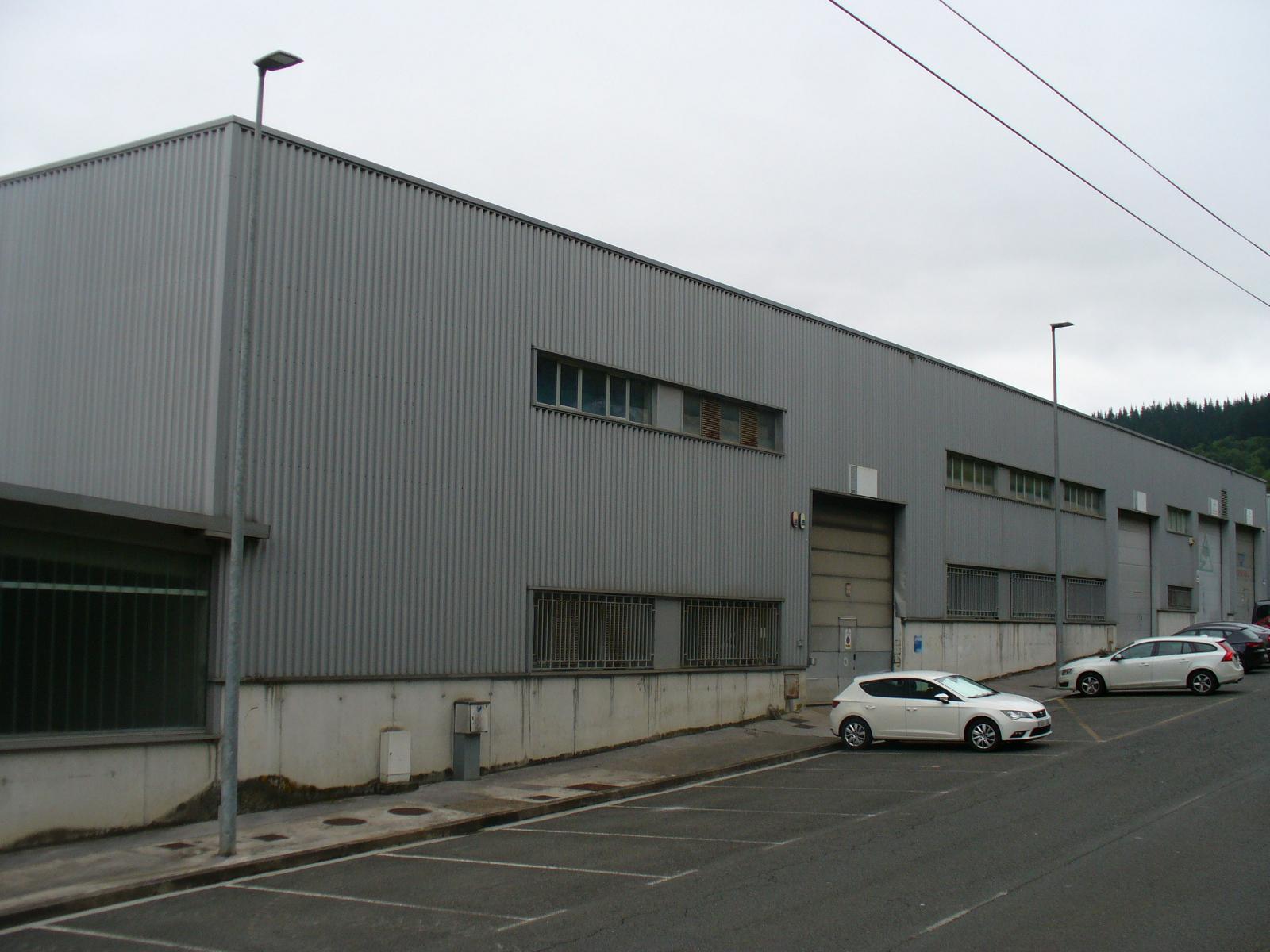 Imagen de Pabellón en planta alta nº 1, Polígono Industrial Markulete E45 – Arrasate