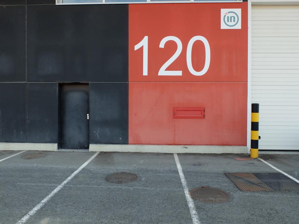 Imagen de Pabellón 120 V2 en planta 0, Polígono Industrial Oinartxo – Azkoitia