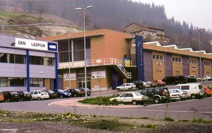 Imagen de Pabellón en planta 1 del Edificio CC05, Polígono Industrial Labegaraieta – Bergara